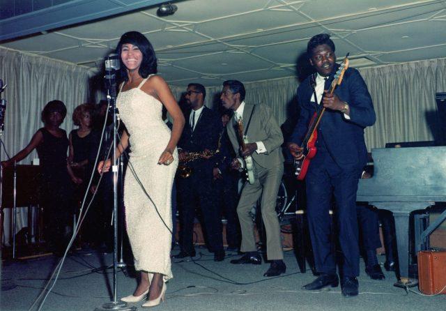 Tina Turner performing in 1964
