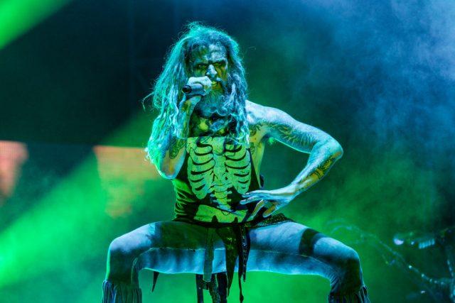 Rob Zombie performing (Photo Credit: Miikka Skaffari/FilmMagic)