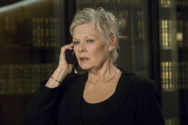 Dame Judi Dench as M (Photo Credit: MovieStillsDB)