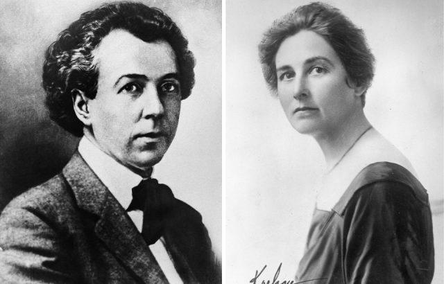Frank Lloyd Wright and Mamah Borthwick