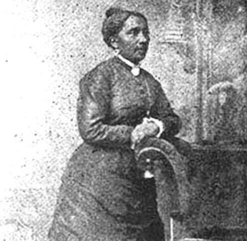 Elizabeth Jennings Graham, 19th century engraving. (Photo Credit: Wikimedia Commons)