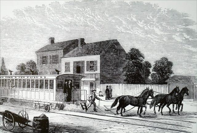 19th Century New York City Street Car