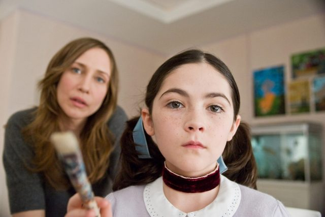 Vera Farmiga and Isabelle Fuhrman in Orphan
